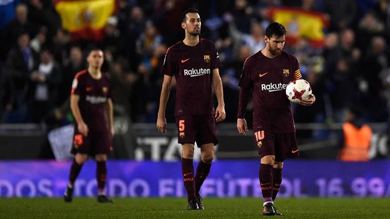 Las 6 rachas del Barça que se terminaron ante el Espanyol