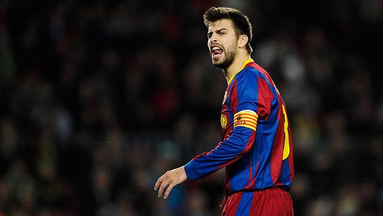Gerard Piqué podría ser uno de los nuevos capitanes del Barça