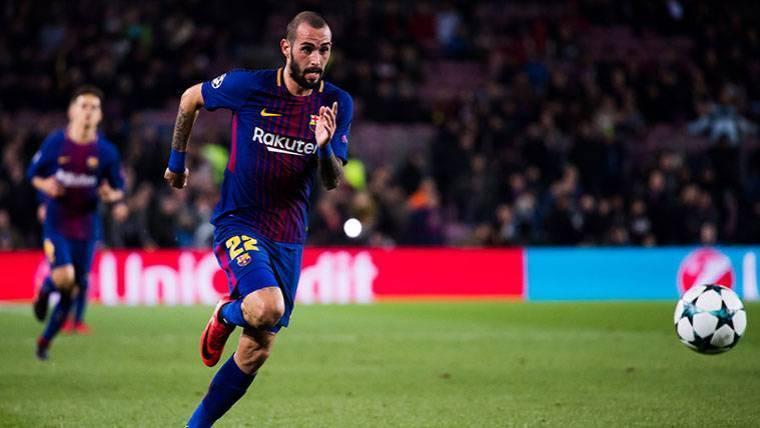 El Barça aceptaría una oferta a la baja del Sevilla por Aleix Vidal