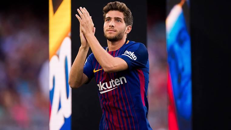 La renovación de Sergi Roberto con el Barça estaría al caer
