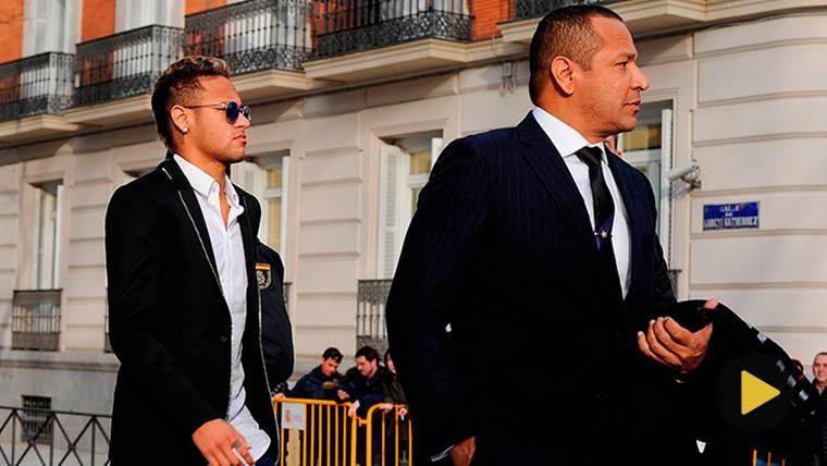Mensaje del padre de Neymar para salir en defensa de su hijo