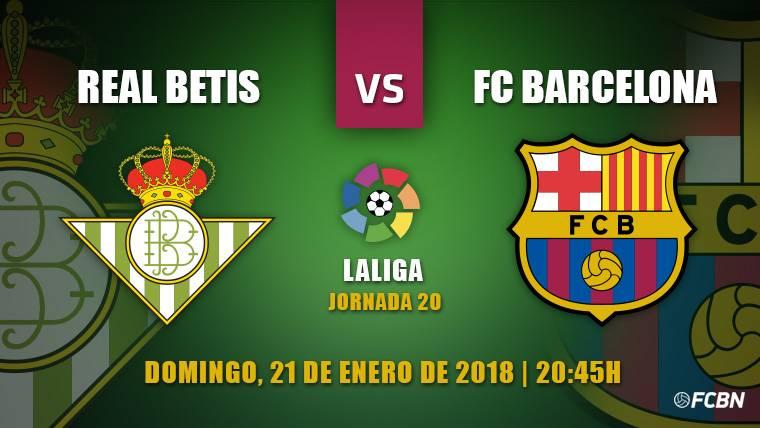 Betis-Barça: A seguir tomando distancia en el liderato de Liga