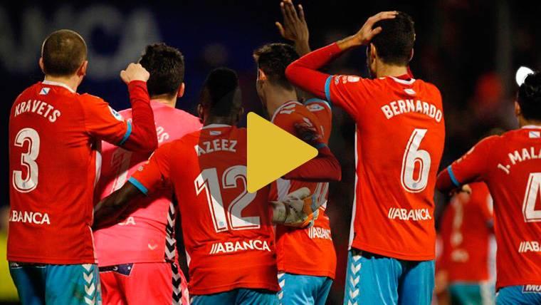 BRUTAL: El portero del Lugo marca uno de los goles del año