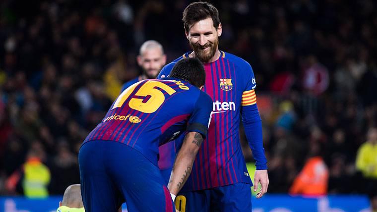 """""""Messi se ha dado cuenta de que tener a Paulinho le beneficia"""""""