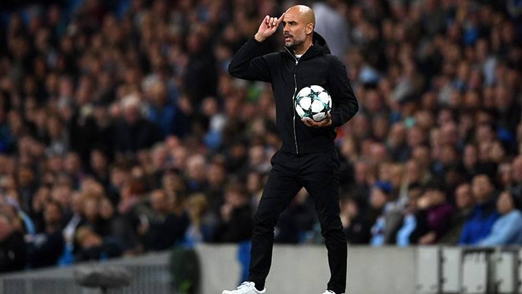 El 'tapado' en la agenda del Manchester City de Guardiola