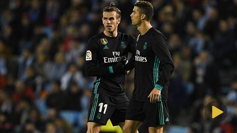 Cristiano no celebró un gol de Bale, ¡por estar protestando!