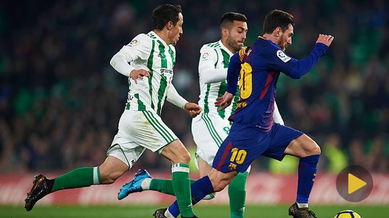 La jugada más espectacular de Leo Messi contra el Betis