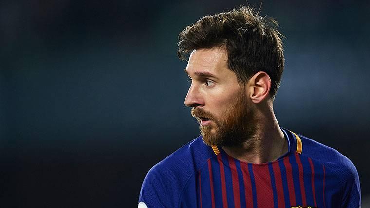 Messi se marchó ovacionado del Villamarín en el Betis-Barça