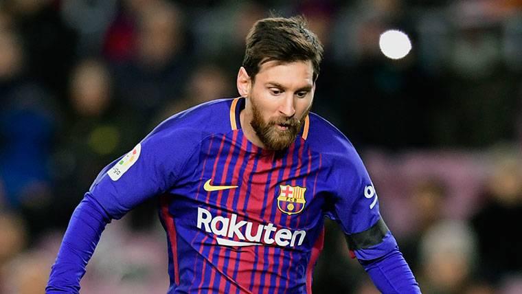 El solidario mensaje de Leo Messi tras la victoria ante el Betis