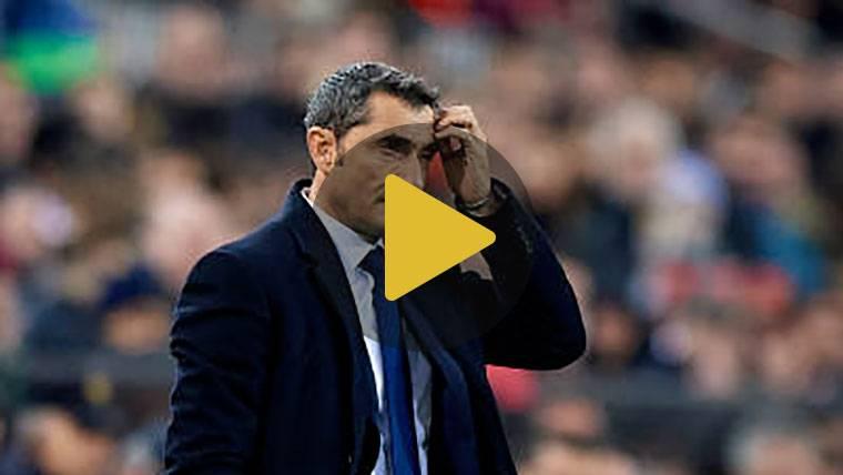 Descubra cómo vive Valverde los partidos desde el banquillo