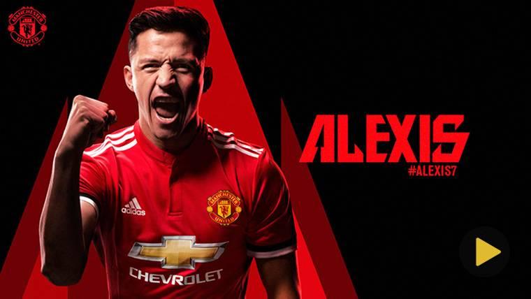 OFICIAL: El Manchester United confirma el fichaje de Alexis