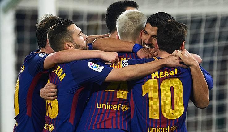 La versión más letal del Barça no llega hasta las segundas partes