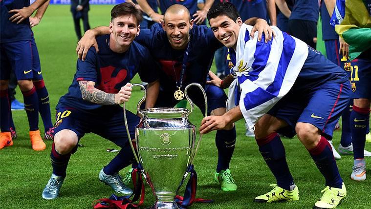 El adiós de Messi a Mascherano, Rafinha y Arda Turan