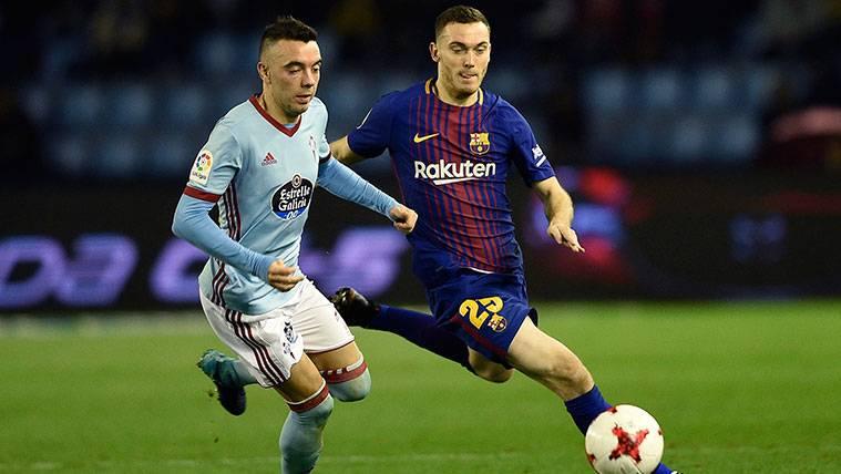 El Barça se vuelca en apoyar a Vermaelen tras su lesión
