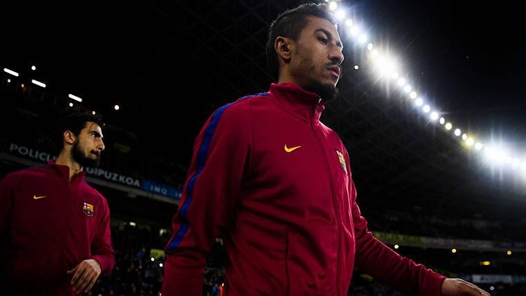 """Paulinho, enamorado del Barça: """"No veo dónde estaría mejor"""""""
