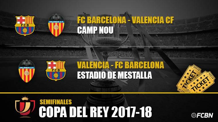 Entradas FC Barcelona vs Valencia - Copa del Rey