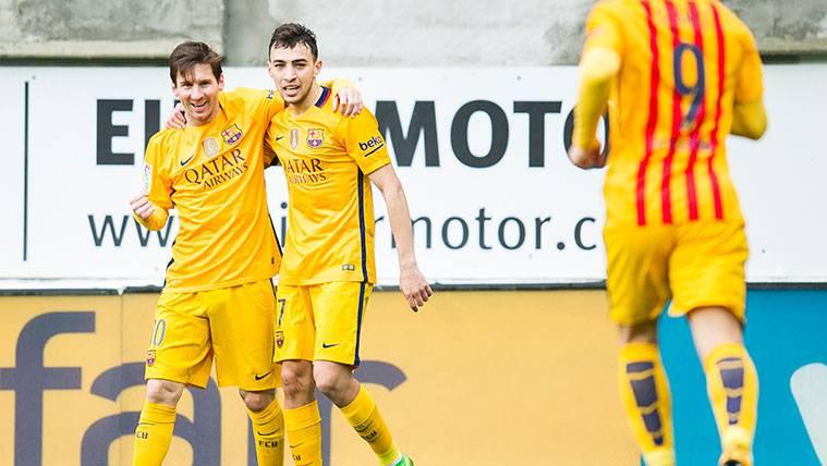 """Munir: """"No hay nadie ni habrá nunca nadie como Leo Messi"""""""