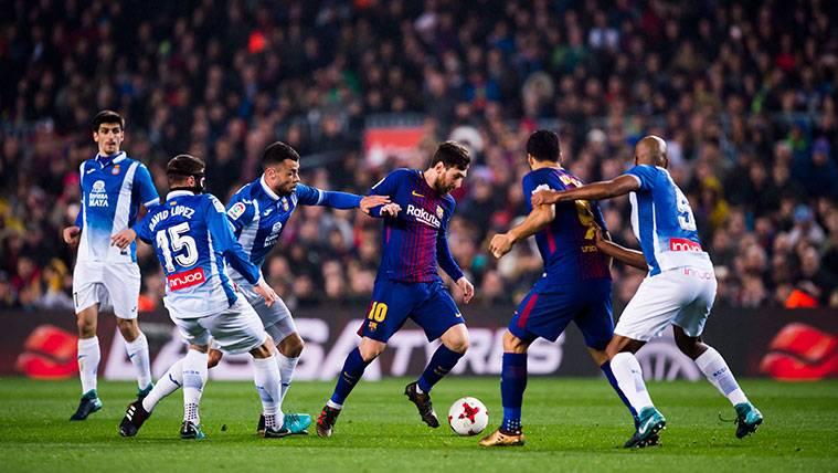 La LFP también denuncia los cánticos del Camp Nou en Copa
