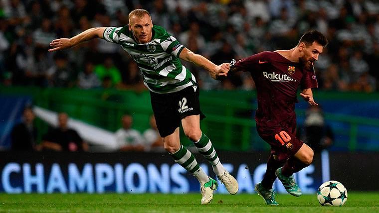 El cambio radical de Mathieu: titular y campeón con el Sporting