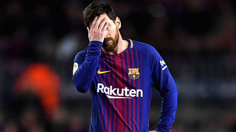 El número de palos de Messi y del Barça ya asusta este curso