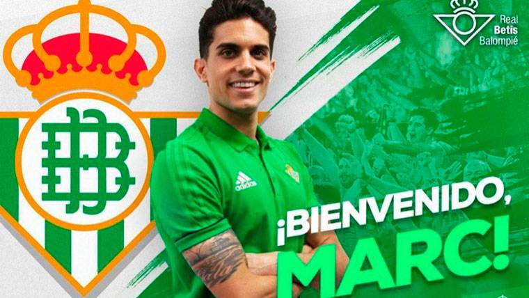 OFICIAL: Marc Bartra ya es nuevo jugador del Real Betis
