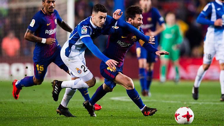 El Espanyol-Barça de LaLiga, declarado partido de alto riesgo