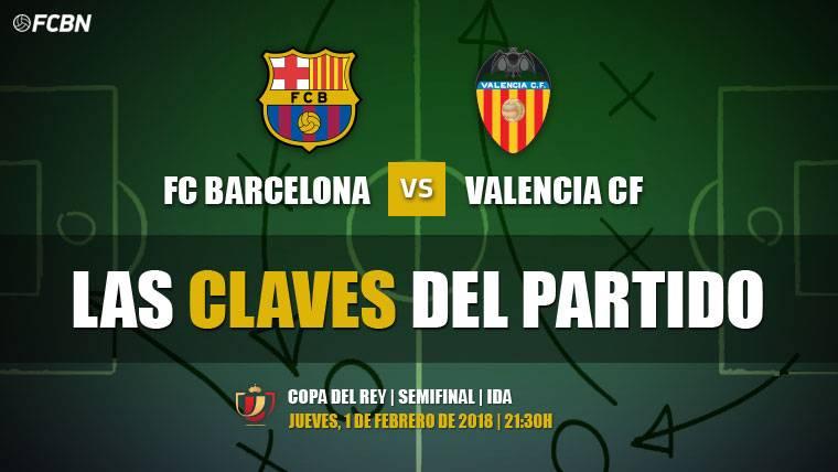 Las tres claves del Barcelona-Valencia de Copa del Rey