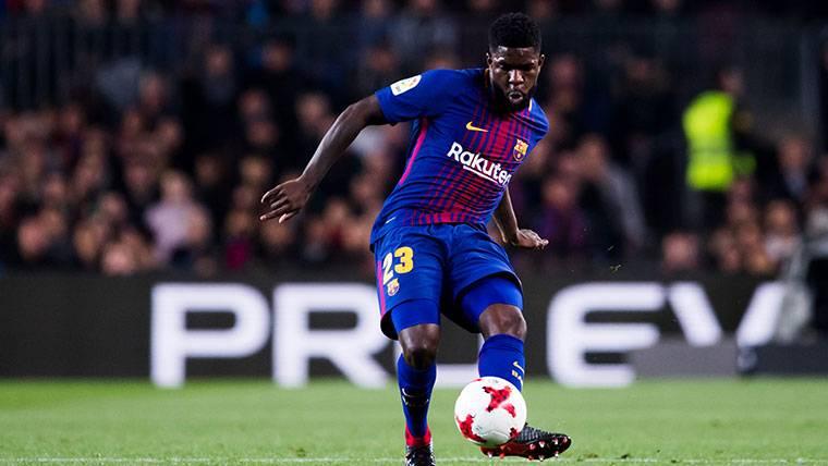 Si Umtiti no se ha ido del FC Barcelona es porque no quiere