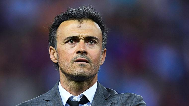Luis Enrique en el banquillo del Chelsea... ¿Contra el Barça?