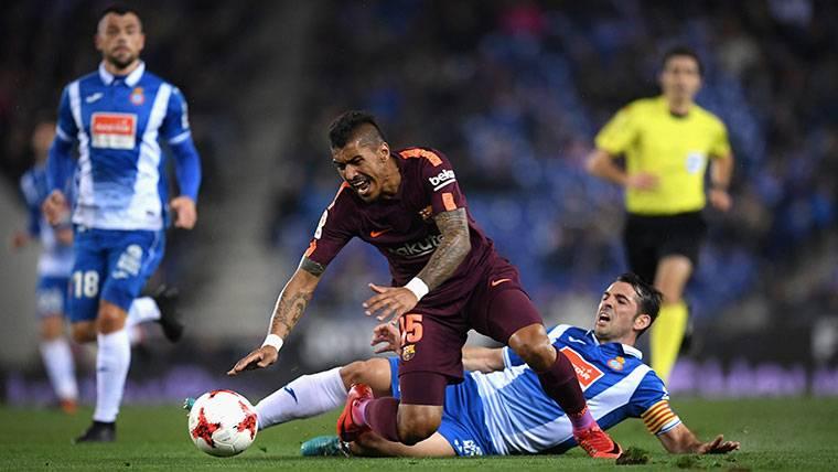 Paulinho no es el mismo 'atado' que con libertad en el Barça