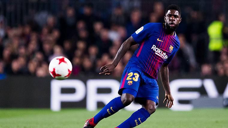 Umtiti, sancionado en Liga y Yerry Mina debutará con el Barça