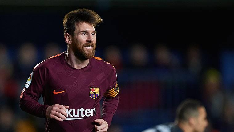 Primeros minutos que se pierde Messi en el campeonato liguero