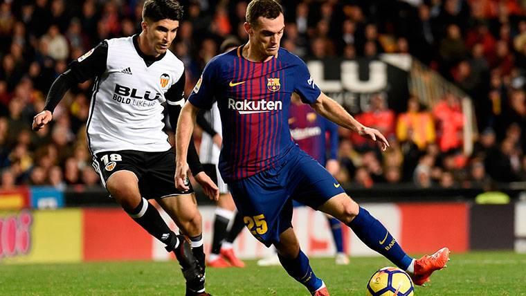 Vermaelen sigue de baja... ¿Forzará el Barça su regreso?
