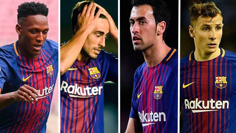 Las cuatro alternativas del Barça para relevar a Gerard Piqué