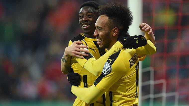 El Dortmund anuncia medidas por Dembélé y Aubameyang