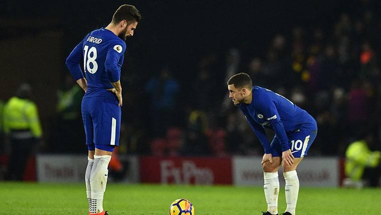 El Chelsea no reacciona y vuelve goleado de Watford (4-1)
