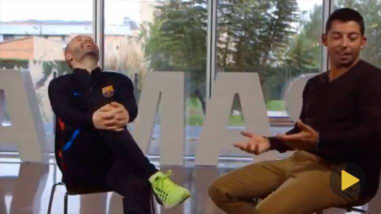 """Destapan la faceta 'empollona' de Iniesta: """"¡Haber estudiado!"""""""