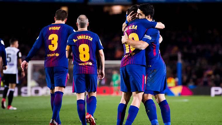 Las claves de la alineación del Barcelona contra el Valencia