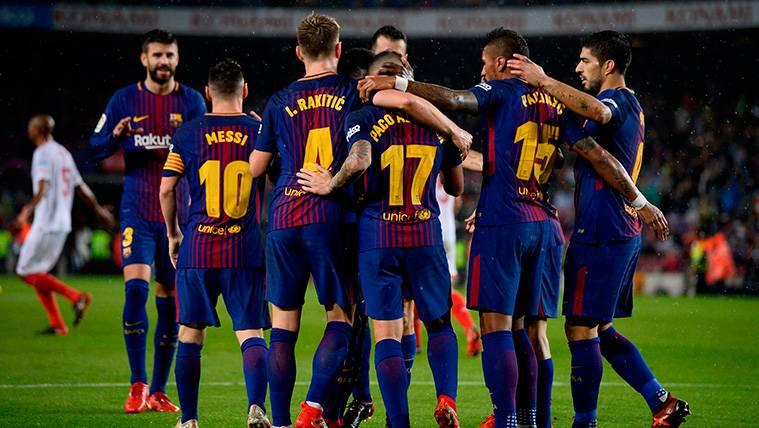 Sólo hay tres equipos capaces de seguirle el ritmo al Barça