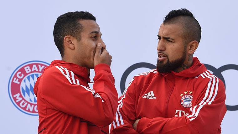 ¡Fichar a Thiago y a Arturo Vidal sería factible a partir de verano!