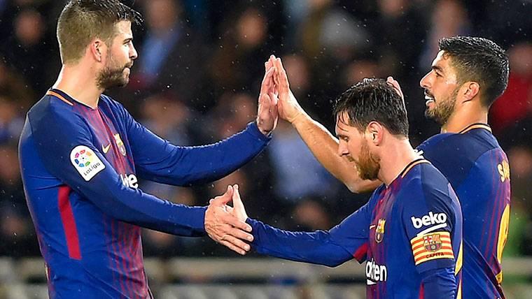 Espíritu de capitán de Piqué al arriesgar su físico por el Barça