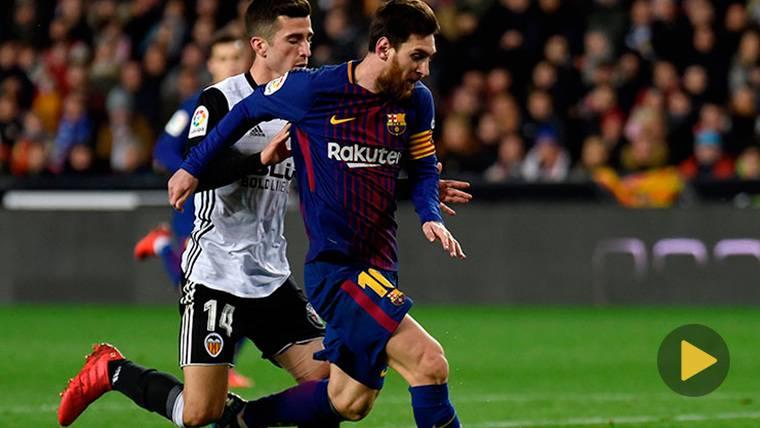 VIRAL: Messi tiró un 'súper-caño' que ya da la vuelta al mundo