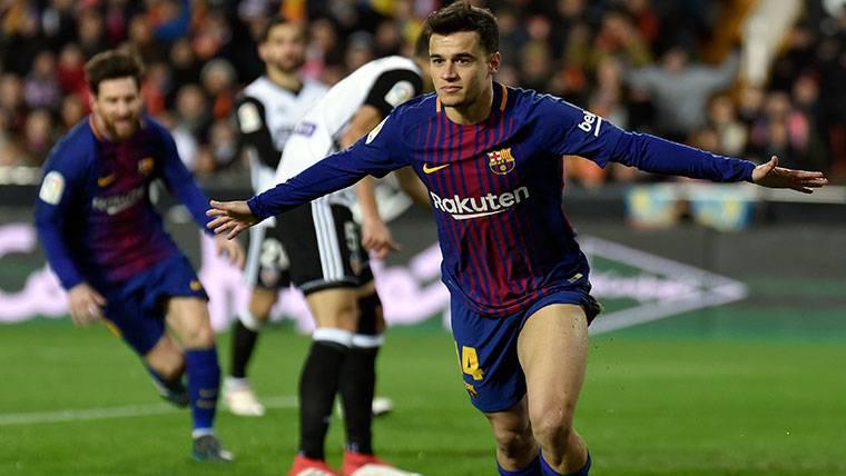 La intrahistoria del primer gol de Coutinho con el Barça