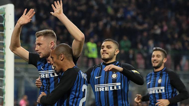 El interés de Barça y Madrid provoca una reacción del Inter