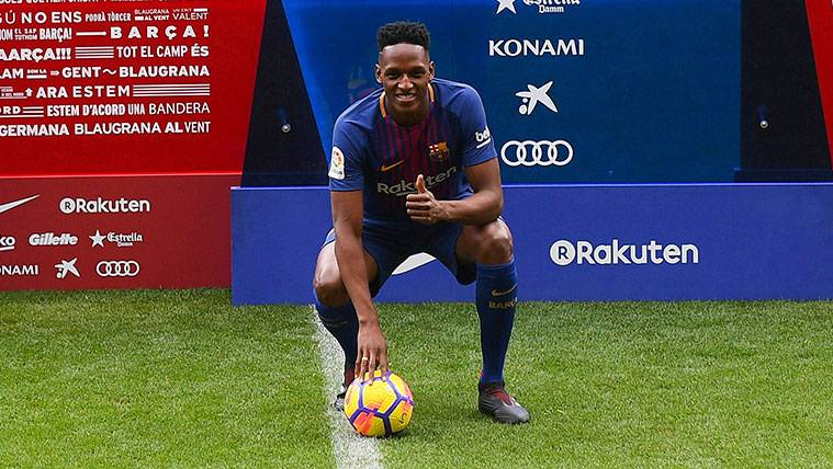 There Are Not Doubts With Yerry Mina It Is The Suitable For The Barca