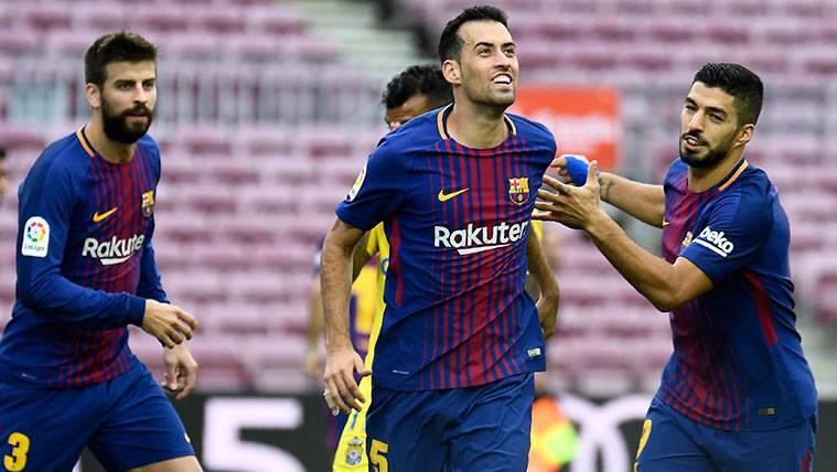 Busquets, historia del Barça: A por los 300 partidos en LaLiga