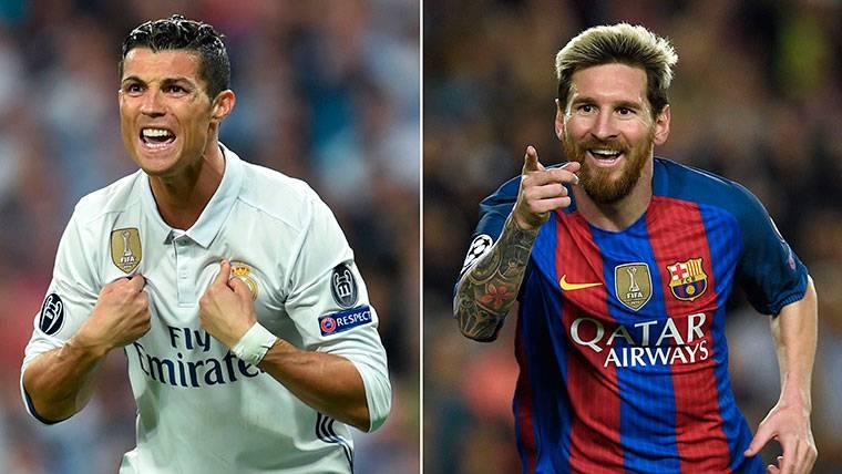 Cristiano Ronaldo y Leo Messi, cara a cara