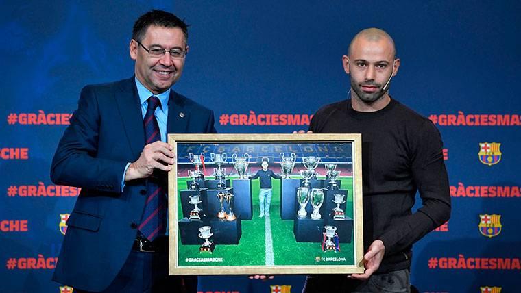 El amor de Mascherano al Barça bloquea la salida de Messi