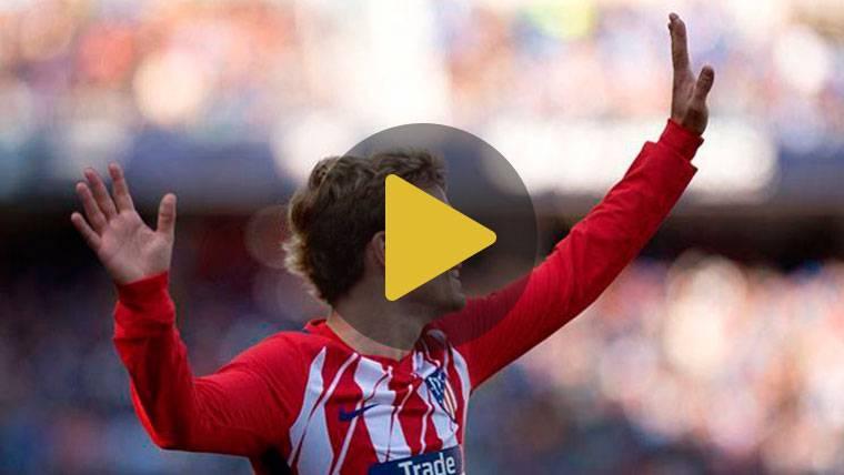 Griezmann salva a un Atlético que se coloca a seis del Barça