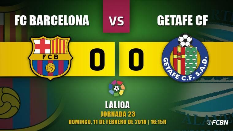 El Barça tropieza contra el Getafe y pierde fuelle en Liga (0-0)